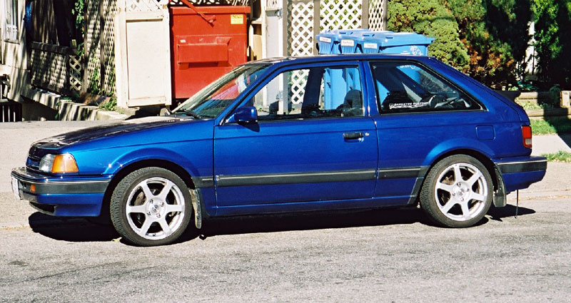 mazda 323 gtx - for sale and wanted to buy