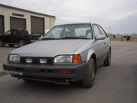 Mazda 323 Gtx Parts. 1988 Mazda 323 GTX,